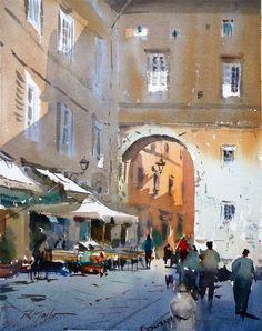 David Taylor - Nice watercolor