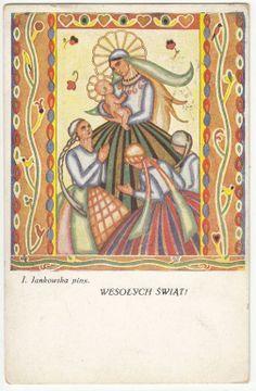 Wesołych Świąt J. Jankowska  1931 (4)