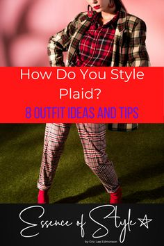 Plaid never goes out of style! I have 8 outfits to teach you how to style plaid into your own wardrobe and do it without looking like a lumberjack! Business Casual Men, Men Casual, Plaid Outfits, Plaid Fashion, Mens Clothing Styles, Summer Looks, Looking For Women, Daily Fashion, Things That Bounce