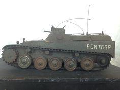 Maquette véhicule de transport de troupes, Base AMX 13, circa 1960