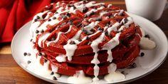 Best Red Velvet Waffle Recipe - How to Make Red Velvet Waffles