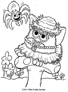 furby coloring pages | Furby Coloring Pages