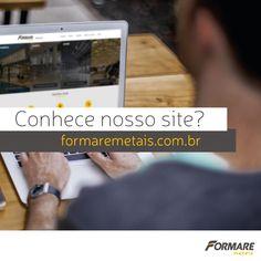 Nosso site já está no ar! Acesse e saiba tudo sobre os produtos da Formare Metais.  www.formaremetais.com.br
