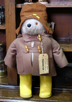 Vintage Paddington Bear...makes me think of my Nanny xo