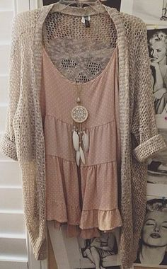 Moda DC: I love that top for under fly-away cardi's, I love that sweater for spring!!!!