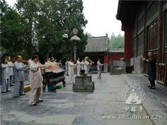 Trainees from Russia Shaolin Kungfu Training Center Went on a Tour to Shaolin Temple - ShaoLinEN