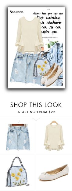 """""""Sheinside contest"""" by misslady65489 ❤ liked on Polyvore featuring STELLA McCARTNEY and Sam Edelman"""