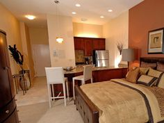 Efficiency Suite @   The Hamptons Luxury Apartments  Beachwood, OH  Fully Furnished!!!