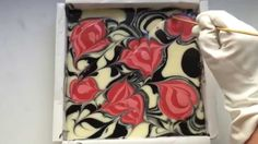 ♔ Beauty Video - tutorials: Soapmaking: Thorns and Roses soap.