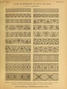 some charts that could be used in knitting motifs Cross Stitch Borders, Cross Stitch Samplers, Cross Stitch Charts, Cross Stitch Designs, Cross Stitching, Cross Stitch Embroidery, Cross Stitch Patterns, Knitting Charts, Knitting Patterns
