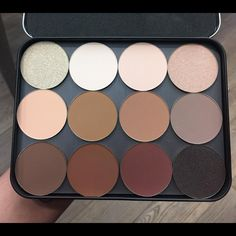 MUFE Z Pallette with 504, 530, 532, 520, 534, 660, 646, 548, 630, 656, 608 & 622.