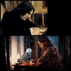 Love Letter by OpalChalice on DeviantArt Snape And Hermione, Severus Rogue, Alan Rickman Severus Snape, Harry Potter Fandom, One And Only, Rogues, Love Story, Find Art, Pride