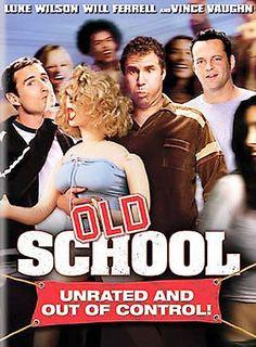 "Old School mini movie poster 11 x 17/"" Will Farrel Vince VAughn Luke Wilson"