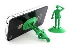 Soldier Shape Mobile Phone Holder ::INFPASS