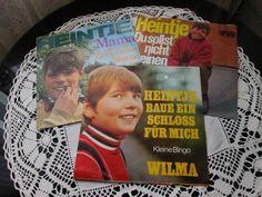Heintje - 3 singles - Du sollst nicht weinen - Mama - Wilma - 1960s