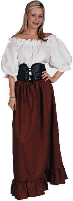 Medieval Women's Fashion   Renaissance Peasant Woman Costume   Renaissance Costumes ...