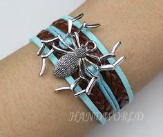 Spider braceletantique silverbracelet for boys and by handworld, $3.99