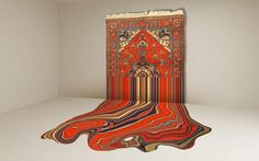 design FaigAhmed carpets Traditional Azerbaijan Carpets Turned into Hypnotizing Works of Art