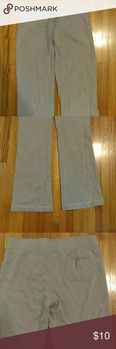 VICTORIA SECRET Sweatpants -Has a small white stain on back leg at calf level  -Hard to tell exactly what color but I'd say they're a gray with pink undertone Victoria's Secret Pants Track Pants & Joggers