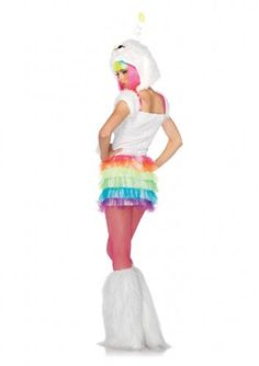 Leg Avenue Costumes 2PcStarbrite Dress and Furry Monster Hood with Star Antennae Multicolor SmallMedium -- BEST VALUE BUY on Amazon-affiliate link
