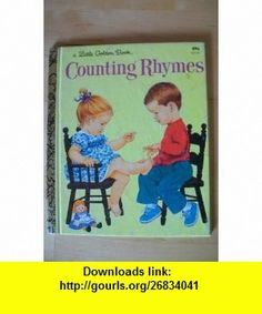 Counting Rhymes Little Golden Book 311 31 Sharon Kane