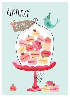 Best Birthday Quotes : QUOTATION – Image : As the quote says – Description Greeting Cards – Birthday Cards – Felicity French Illustration Happy Birthday Quotes, Happy Birthday Images, Happy Birthday Greetings, It's Your Birthday, Birthday Messages, Birthday Pictures, Birthday Greeting Cards, Birthday Treats, Card Birthday