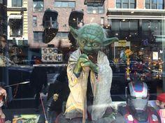 Yoda NYC #nyc #yoda #wise