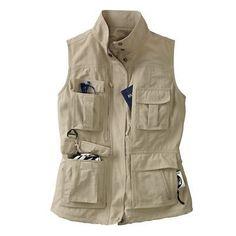Women's 15-Pocket Voyager Vest - TravelSmith