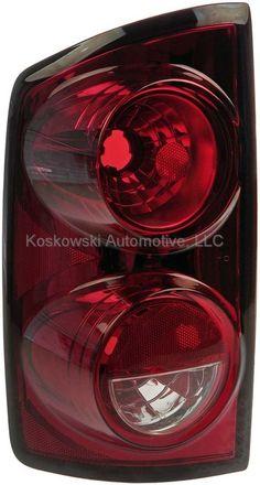 Taillight Tail Light Lamp Dodge Ram Right Passenger Dorman 1611231 55277302AB #Dorman