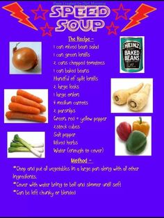 Slimming World Speed Soup have lots of freezer space handy when you make this- it makes a large batch! astuce recette minceur girl world world recipes world snacks Slimming World Soup Speed, Slimming World Soup Recipes, Slimming World Tips, Slimming World Dinners, Slimming Eats, Slimming World Lunch Ideas, Speed Soup, Syn Free Food, Sliming World