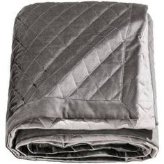 Grey quilted blanket from H&M