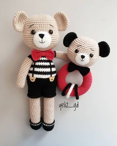 Baby Gifts Handmade Free Pattern 58 New Ideas Doll Patterns Free, Crochet Animal Patterns, Crochet Patterns Amigurumi, Amigurumi Doll, Crochet Dolls, Bear Patterns, Free Pattern, Handmade Baby Gifts, Handmade Toys