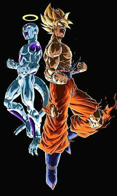 Dragon Ball Gt, Dbz, Wallpaper Animé, Goku Vs Jiren, Z Warriors, Superhero Poster, Itachi Uchiha, Dope Art, Awesome Anime