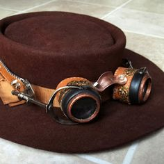 All Things Crafty: Steampunk on the Cheap - DIY goggles from stuff you have