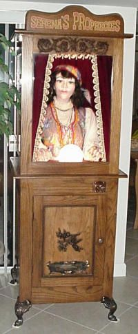 Serena's Prophecies by Robert Strauss Fortune Teller coin operated arcade game