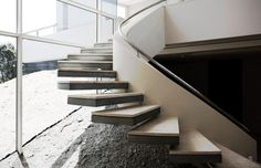 Contemporary #Stairway   Cunningham   Cape Town, South Africa   SAOTA