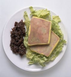 Fois gras or duck liver terrine is for a special occasion