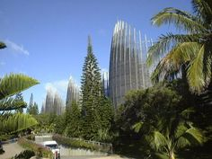 Jean-Marie Tjibaou Cultural Centre by Renzo Piano - Nouméa, New Caledonia