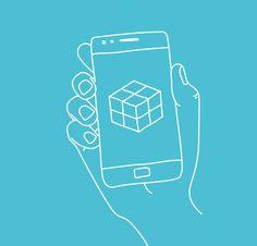 Marre de la vague rétro ? Avec #Matter, donnez un effet futuriste à vos photos !  #Hellophone #BanqueMobile #Hellobank