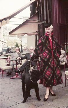Tartan coat 1952