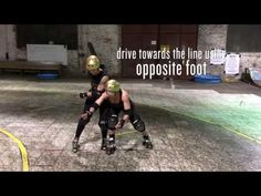 Bay Area Derby Training Vids: Lock and Drive with Murderyn Monroe Roller Derby Drills, Roller Derby Skates, Roller Skating, Derby Time, Bay Area, Sports Women, Coaching, Workout, Training
