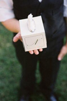 tissue box wedding favors
