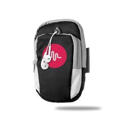 AIJFW Musical Ly Logo Outdoor Sports Armband, Multifunctional Pockets Arm Bag Zipper Bag Gym Running Sport Workout Armband For Running Trekking Hiking Cycling Mounting Strolling Armband. MUTE Zipper - No Audible Noise During Running, Quietly Enjoy Running. Waterproof, Durable To Use And Comfy To Wear, Perfect For Sports And Outdoor Activities. Secure velcro strap holds your MP164 / Cell Phones tightly in place, it won't go anywhere you don't go!. HIGH QUALITY and Concealed Double Zippers...