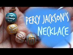 DIY Percy Jackson Necklace - YouTube