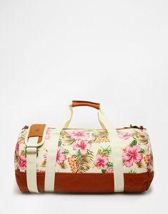 Mi-Pac | Mi-Pac Carryall in Tropical Floral Print at ASOS
