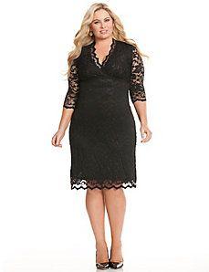scalloped budoir lace dress lanebryant.com
