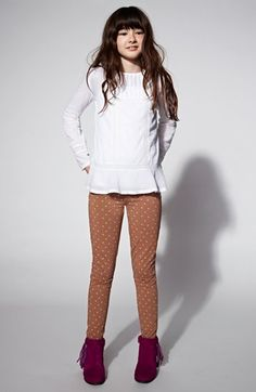 Tucker + Tate Tunic & Denim Jeggings (Big Girls)  available at #Nordstrom