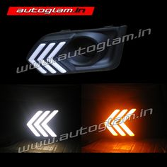 A drl or daytime running light is lighting device on the front of the car. It increases the visibility during fog and on hills. Honda City 2017, Neon Signs, Running, Big