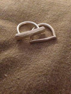 To meget enkle ringe, som tilmed er meget nemme at lave :-) Silver Rings, Jewelry, Jewlery, Jewerly, Schmuck, Jewels, Jewelery, Fine Jewelry, Jewel