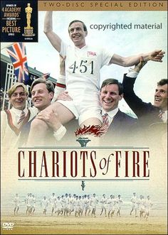 Chariots of Fire: a must-see for everyone; the true story of Olympic gold medalists Eric Liddell and Harold Abrams. Note: There are a couple short scenes we skip as a family (issue of modesty), and there is some PG language. But overall, we've always considered this to be one of the most God-honoring movies we've ever seen.